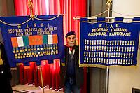 Roma 9 Febbraio 2015<br /> Funerale al Campidoglio del partigiano Massimo Rendina, conosciuto col nome di battaglia di Comandante Max, comandante nelle brigate Garibaldi, eroe della Resistenza, vicepresidente dell&rsquo;Anpi, morto all'et&agrave; di 95 anni.<br /> Rome February 9, 2015<br /> Funeral to Capitol of the partisan Massimo Rendina,known by the nom de guerre of Commander Max, commander in the brigades Garibaldi, hero of the Resistance, Vice President of the National Association of Italian Partisans, died at the age of 95 years.