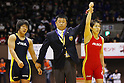 (L to R) Kanako Murata, Saori Yoshida, December 23, 2011 - Wrestling : All Japan Wrestling Championship, Women's Free Style -55kg Final at 2nd Yoyogi Gymnasium, Tokyo, Japan. (Photo by Daiju Kitamura/AFLO SPORT) [1045]