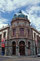 The Teatro Macedonio Alcala in the city of Oaxaca, Mexico