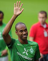 FUSSBALL   1. BUNDESLIGA   SAISON 2011/2012    5. SPIELTAG SV Werder Bremen - Hamburger SV                         10.09.2011 NALDO (Bremen)