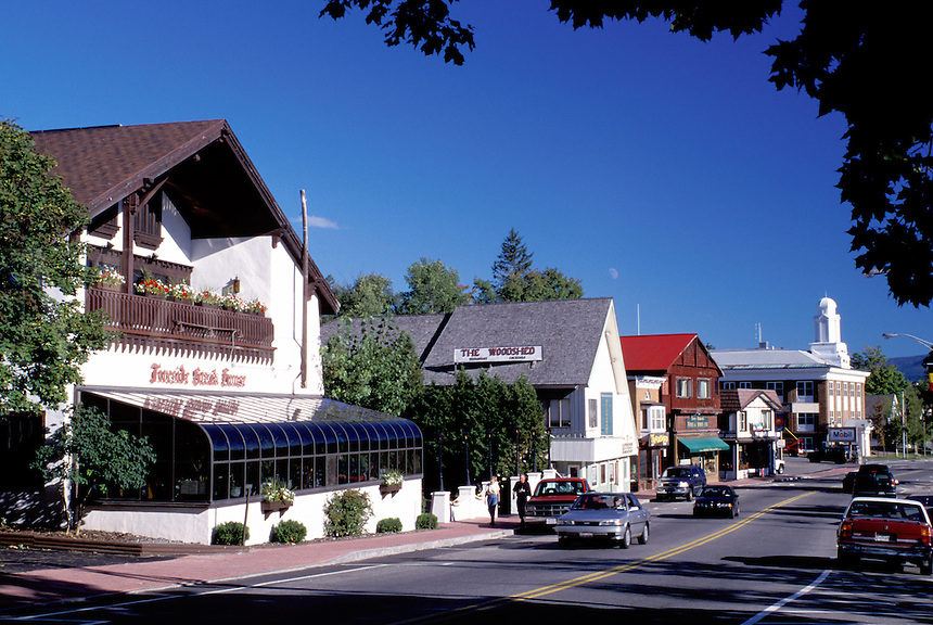 Lake Placid, New York, NY, Adirondacks, Shops along Main Street in ...: miraimages.photoshelter.com/image/i0000ntc6hwzra0e