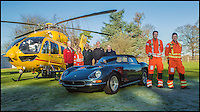 BNPS.co.uk (01202 558833)<br /> Pic: H&amp;HClassics/BNPS<br /> <br /> East Anglian Air Ambulance with the car.<br /> <br /> Car nut's 'life saving' &pound;500,000 gift to Prince William's Air Ambulance.<br /> <br /> A motor racing enthusiast has left a specially commissioned Ferrari to an air ambulance charity in his will after it once saved a fellow racing driver after a crash.<br /> <br /> Richard Allen, who died aged 78 last November, donated his stunning sports car to the East Anglian Air Ambulance so they can build a new hanger for their helicopter.<br /> <br /> Mr Allen bought the 1964 Ferrari 330GT, which has a 4 litre V12 engine, from Italy in the mid-1990s. <br /> <br /> The former chairman of the Ferrari Owners' Club was so attached to it he decided not to drive it on the road but displayed it regularly at Ferrari events in the UK.<br /> <br /> The Ferrari is tipped to sell for more than &pound;500,000 at auction on March 29.