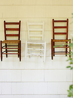 Chairs.  Around the Southern Table Cookbook by Rebecca Lang
