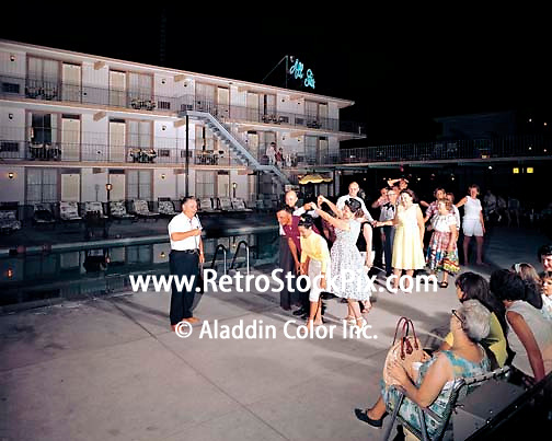 Line Dancing at the All Star Motel in Wildwood, NJ - 1967