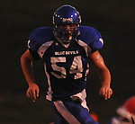 Water Valley's Justin McCammon (54) vs. Coffeeville in Water Valley, Miss. on Friday, August 26, 2011.