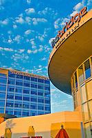 Pepperdine University, Bridge, Promenade, Howard Hughes Center, Los Angeles, CA, High dynamic range imaging (HDRI or HDR)