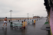 Brooklyn, New York<br /> April 25, 2010<br /> <br /> A rainy day on Coney Island beach.