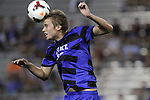 30 August 2013: Duke's Nat Eggleston. The Duke University Blue Devils hosted the Rutgers University Scarlet Knights at Koskinen Stadium in Durham, NC in a 2013 NCAA Division I Men's Soccer match. The game ended in a 1-1 tie after two overtimes.
