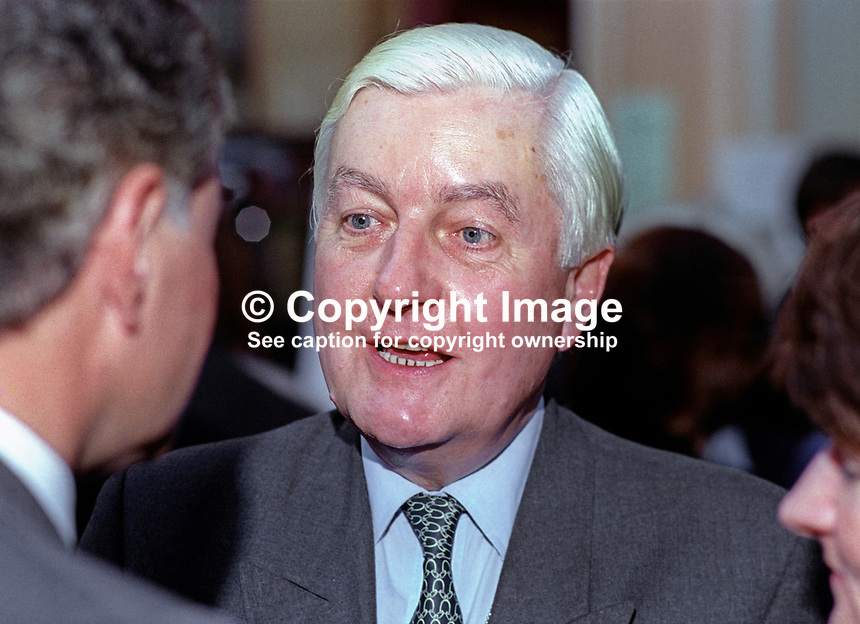 Peter Temple-Morris, MP, Conservative Party, UK, 199510196.<br />