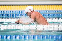 Santa Clara, California - Friday June 3, 2016:  Max Williamson competes in the Men's 400 Long Course Meter IM event at the Arena Pro Swim Series.