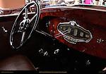 1930 Stutz MB LeBaron Convertible Coupe, Interior detail, Pebble Beach Concours d'Elegance