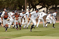 SAN ANTONIO, TX - MAY 7, 2011: The Texas State University Bobcats vs. the University of Texas at San Antonio Roadrunners Baseball at Roadrunner Field. (Photo by Jeff Huehn)