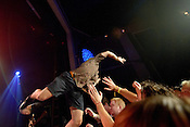 September 6, 2012. Raleigh, NC. Trash Talk performs at the Lincoln Theatre as part of the 2012 Hopscotch Music Festival in Raleigh, NC.