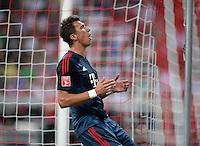 Fussball  International   Audi Cup 2013  Saison 2013/2014   31.07.2013 FC Bayern Muenchen - Sao Paulo FC  Mario Mandzukic (FC Bayern Muenchen) emotional