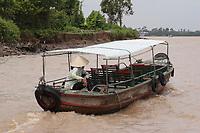 Mekong River<br /> , Vietnam - 2007 File Photo -<br /> <br /> Mekong Delta  fishing boats.<br /> <br /> <br /> <br /> <br /> photo : James Wong-  Images Distribution
