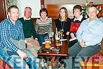Quiz Night : Attending the quiz in aid if Listowel Fishing club at the Sheebeen Bar, Listowel on Saturday nigh last were Tadgh Culhane, Jim & Marie Cronin, Fiona Cronin & Anna & Paddy Lynch.