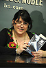 "E L James at her Book Signing for ""Fifty Shades of Grey"" .on May 10, 2012 at Barnes & Noble's Union Square in New York City."
