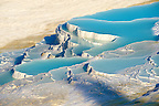 Photo &amp; Image  of Pamukkale Travetine Terrace, Turkey. Picture of the white Calcium carbonate rock formations. Buy as stock photos or as photo art prints. 3