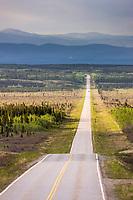 Richardson highway south of Delta Junction, interior, Alaska.