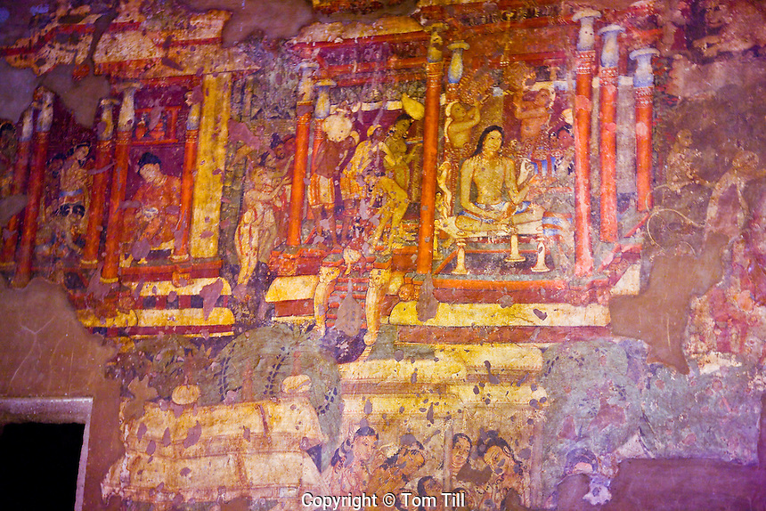 900 000 0059 d tom till for Ajanta mural painting
