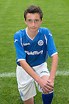 St Johnstone FC Academy Under 14's<br /> Murray Findlay<br /> Picture by Graeme Hart.<br /> Copyright Perthshire Picture Agency<br /> Tel: 01738 623350  Mobile: 07990 594431