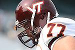 09 September 2006: Virginia Tech's Brandon Gore. The University of North Carolina Tarheels lost 35-10 to the Virginia Tech Hokies at Kenan Stadium in Chapel Hill, North Carolina in an Atlantic Coast Conference NCAA Division I College Football game.