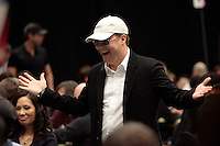 28 February 2009:  7th Annual WPT World Poker Tour Invitational at the Commerce Casino in Los Angeles, CA. Players compete for poker glory and a  piece of the $200,000 prize pool. Celebrity and Pro card players in action.