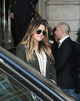 Khloe Kardashian Sighting arriving at a Central London Hotel