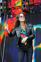 LONDON, ENGLAND - JULY 8: 'BØRNS' performing at British Summertime, Hyde Park on July 8, 2016 in London, England. © MAR/Capital Pictures /MediaPunch ***NORTH AND SOUTH AMERICA ONLY***