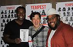 09-08-13 Norm Lewis - Oskar Eustis - The Tempest - Shakespeare in the Park