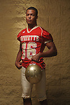 Lafayette High's Keeyon Tyson (36) in Oxford, Miss. on Friday, August 6, 2011.
