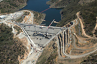 Extended Cotter Dam construction, Canberra, ACT