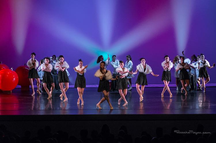 "3D Project Jazz Company, ""Miracle On Madison"", Saturday Matinee, 20 Dec. 2014, Cary Arts Center, Cary, North Carolina."