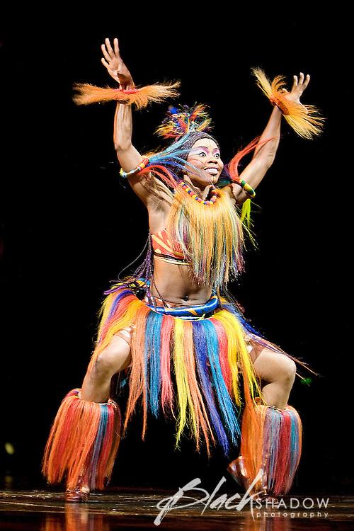 Cirque De Soleil performing their Dralion production in Melbourne, Australia, 8 April 2009