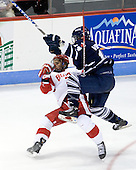 Matt Ronan (BU - 20), Kyle Ventura (Toronto - 14) - The Boston University Terriers defeated the visiting University of Toronto Varsity Blues 9-3 on Saturday, October 2, 2010, at Agganis Arena in Boston, MA.