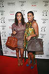 Basketball Wives LA's Gloria and Laura Govan attend New Premium Lounge Signed by INDASHIO Men's Collection Fashion Show at AUDI FORUM, NY 9/13/11