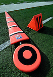 26 November 2006: Chain marker lies on the side lines prior to a game between the Jacksonville Jaguars and the Buffalo Bills at Ralph Wilson Stadium in Orchard Park, NY. The Bills defeated the Jaguars 27-24. Mandatory Photo Credit: Ed Wolfstein Photo<br />