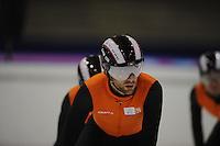 SCHAATSEN: HEERENVEEN: 30-01-14-2013, IJsstadion Thialf, Training Topsport, Daan Breeuwsma, ©foto Martin de Jong
