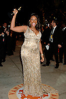 Jennifer Hudson arriving at the Vanity Fair Oscar Party in  West Hollywood, CA  2/25/2007.