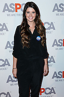BEL AIR, CA, USA - OCTOBER 22: Katherine Schwarzenegger arrives at the 2014 ASPCA Compassion Award Dinner Gala held at a Private Residence on October 22, 2014 in Bel Air, California, United States. (Photo by Xavier Collin/Celebrity Monitor)
