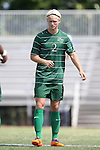 31 August 2014: Stetson's Jeppe Moe (NOR). The Duke University Blue Devils hosted the Stetson University Hatters at Koskinen Stadium in Durham, North Carolina in a 2014 NCAA Division I Men's Soccer match. Duke won the game 8-2.