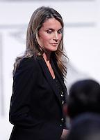 Princess Letizia of Spain attends the 'El Barco de Vapor' literature awards. ESP