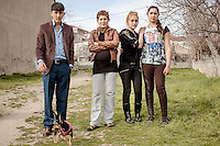 Fans of 'Oyle Bir Gecer Zaman Ki' (As Time Goes By), one of the most loved and most watched Turkish Soap Operas in the Middle East and North Africa, watch filming taking place in Kartal, a suburb of Istanbul.