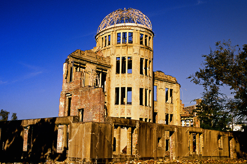 Atomic Bomb Dome, Hiroshima, Japan  Blaine Harrington III