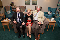 From left:  Howard Heeley, Secretary and Museum Trustee, Newark Air Museum, Sue Lowe, Newark & Sherwood District Council's winner of Citizen of the Year Competition and  Councillor Jim Weale, Chair of Fernwood Parish Council,