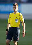 FC Luzern v St Johnstone...17.07.14  Europa League 2nd Round Qualifier<br /> Referee Benoit Bastien<br /> Picture by Graeme Hart.<br /> Copyright Perthshire Picture Agency<br /> Tel: 01738 623350  Mobile: 07990 594431