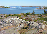 Granite Bedrock and Islands off Kökar, Åland, Finland