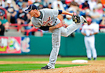 9 March 2010: Detroit Tigers' pitcher Ryan Perry on the mound during a Spring Training game against the Washington Nationals at Space Coast Stadium in Viera, Florida. The Tigers defeated the Nationals 9-4 in Grapefruit League action. Mandatory Credit: Ed Wolfstein Photo