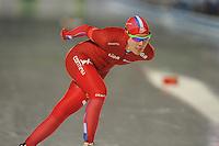 SCHAATSEN: AMSTERDAM: Olympisch Stadion, 01-03-2014, KPN NK Sprint/Allround, Coolste Baan van Nederland, Yvonne Nauta, ©foto Martin de Jong