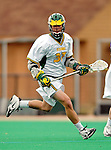 10 April 2007: University of Vermont Catamounts' Tommy Archer, a Freshman from Washington, DC, in action against the Holy Cross Crusaders at Moulton Winder Field, in Burlington, Vermont. The Crusaders rallied to defeat the Catamounts 5-4...Mandatory Photo Credit: Ed Wolfstein Photo
